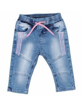 Pantaloni de blug Sara roz