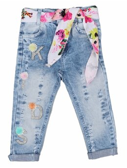 Pantaloni de blug tăiați
