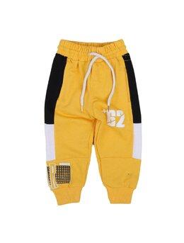 Pantaloni de trening 62 model galben
