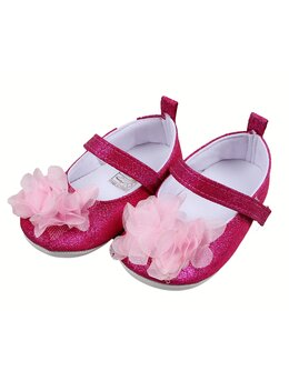 Pantofiori cu floricica model ciclam