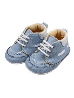 Pantofiori David bleu