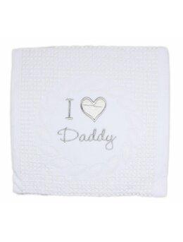 Patura crosetata I Love Daddy