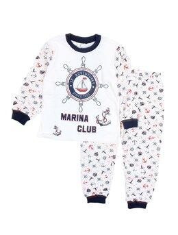 Pijama ancora bleumarin