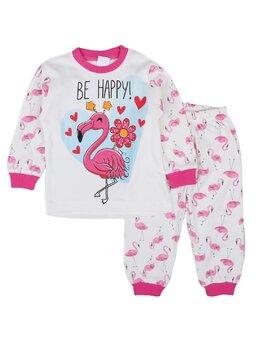 Pijama Flamingo model ciclam
