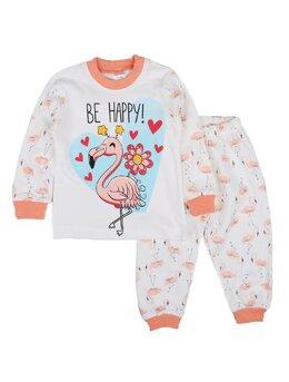 Pijama Flamingo model coral