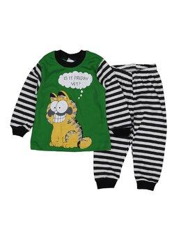 Pijama Gardfield verde 1