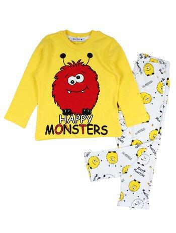 Pijama lux galben