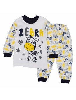 Pijama Zebra boy 1 negru