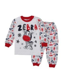 Pijama Zebra boy 1 rosu