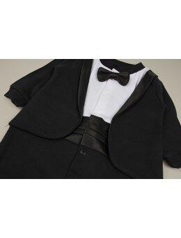 Salopeta bumbac eleganta model negru