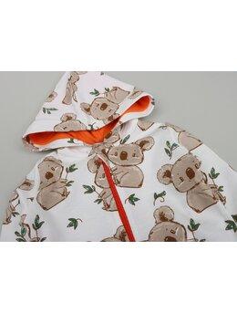 Salopeta urs coala model portocaliu