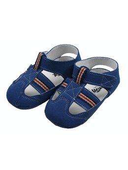 Sandale baietei model albastru