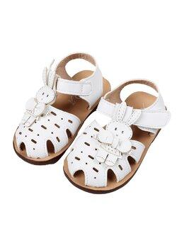 Sandale flexibile model iepuras alb