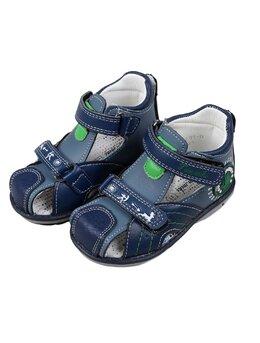 Sandale NORTHEST bleumarin-verde