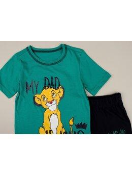 Set 2 piese Lion is king model verde