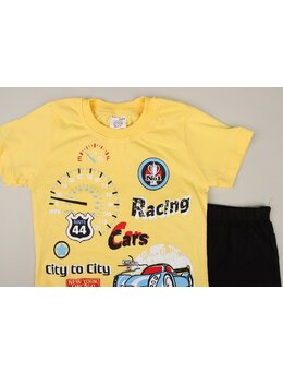 Set 2 piese racing model galben