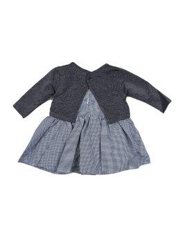Set 2 piese rochita + bluzita bleumarin