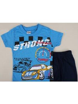 Set 2 piese STRONG turbo albastru