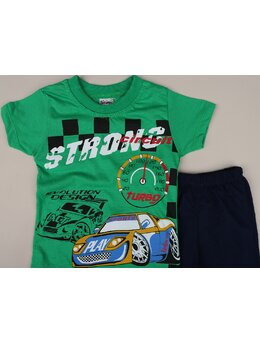 Set 2 piese STRONG turbo verde
