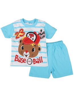 Set Baseball bear turcoaz