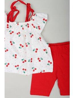 Set girl cherry rosu