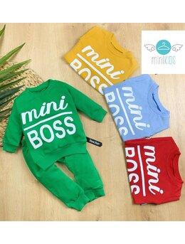 Set Mini Boss model bleu