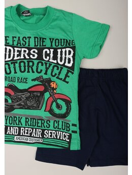Set RIDERS CLUB verde