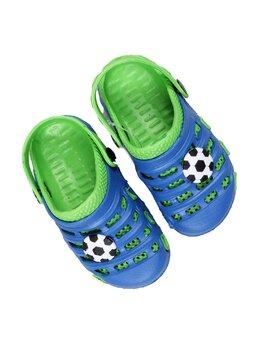 Slapi cu minge pentru copii model verde-albastru