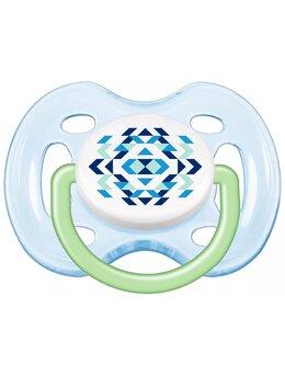 Suzete Philips-AVENT SCF180/23, 0-6 luni, albastru