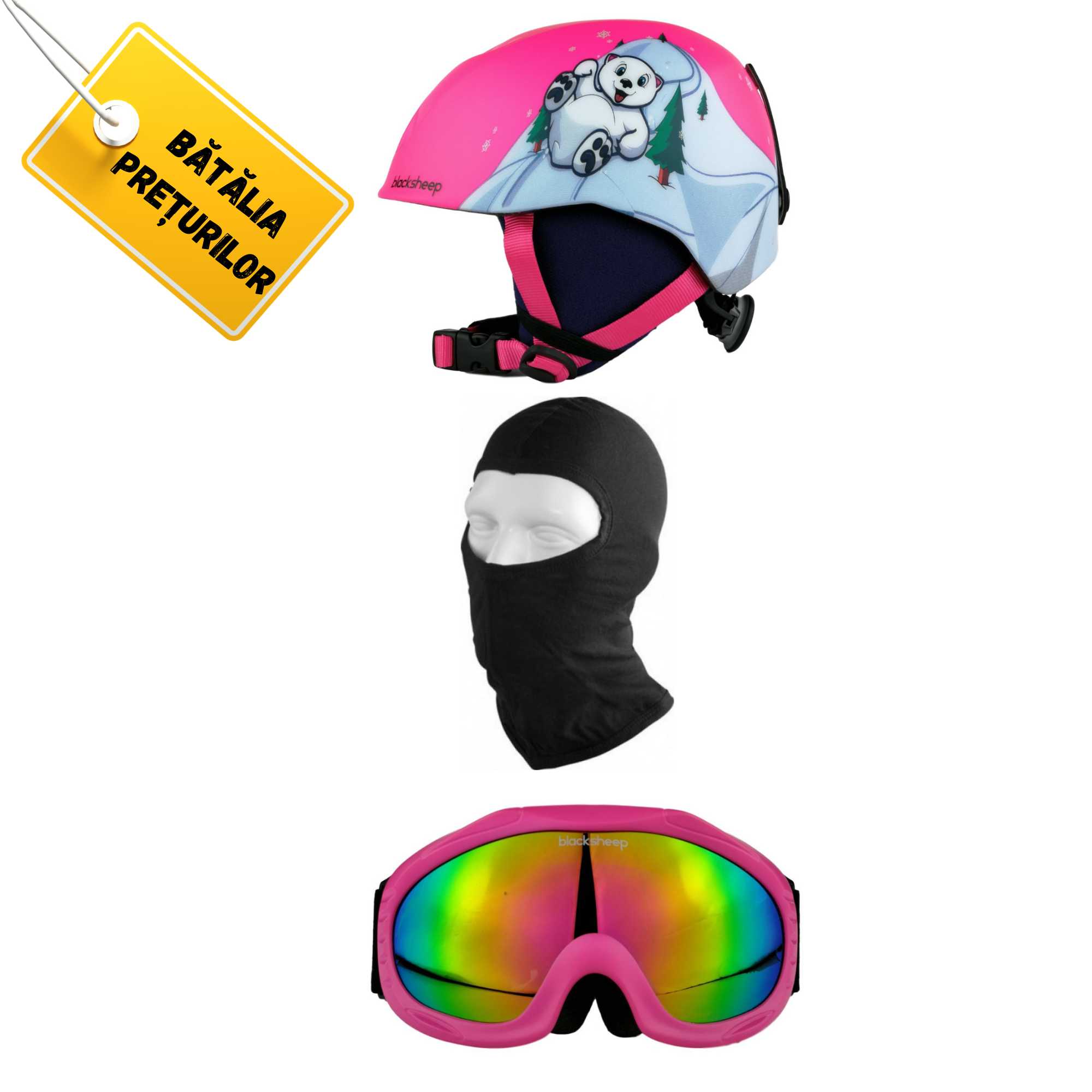 Pachete Ski Cască + Ochelari BP