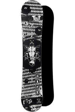 Placă Snowboard FTWO TNT Black Death 14/15