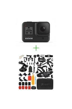 GoPro Hero8 Black + MEGA Pachet de Accesorii SHOOT