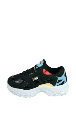 Pantofi Sport Fila Select Low Black/Crystal Blue