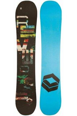 Placă Snowboard FTWO Reverse Black 17/18
