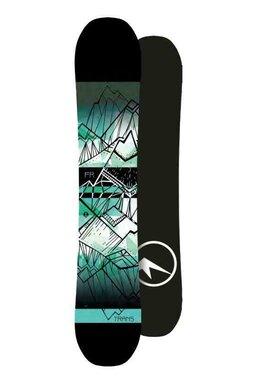 Placă Snowboard Trans FR Flatrocker Green