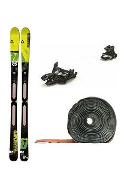 Set Ski de Tură Fischer Ranger Core Air Tech Marker Alpinist 9 (Schiuri + Piei + Legături)