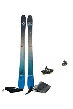 Set Ski de Tură Volkl Rise Blue Marker Alpinist 9 (Schiuri + Piei + Legături)