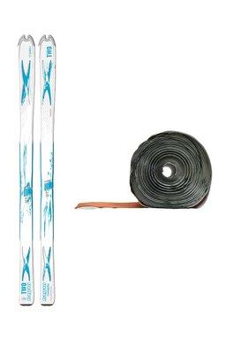Ski de Tură Hagan Two Chimera White/Blue + Piei de Focă