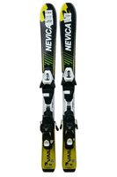 Ski Nevica Vail 4.5 Set In81 Black/Yellow + Legaturi Salomon