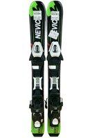 Ski Nevica Vail 4.5 Set In91 Black/Green + Legături Salomon