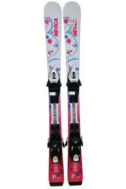 Ski Nevica Vail 4.5 Set InG71 Pink + Legături Salomon