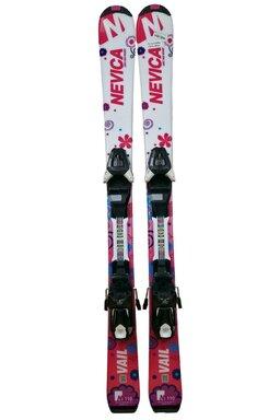 Ski Nevica Vail 4.5 Set InG81 Pink + Legături Salomon