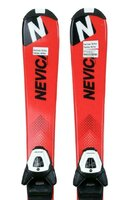 Ski Nevica Vail 5 Set Ch01 Black/Red + Legătură Salomon