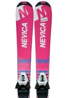 Ski Nevica Vail 5 Set Gi01 Pink Jr + Legătură Salomon
