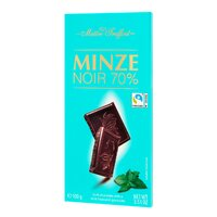 Ciocolata neagra 70% cu menta Maitre Truffout