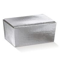 Cutie praline argintie