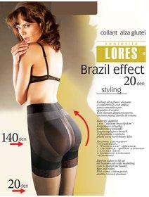 Ciorapi modelatori cu efect de push up Lores Brazil Effect 20 den