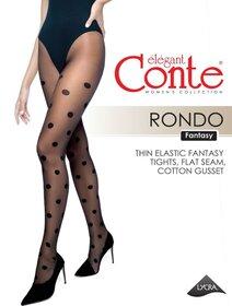 Ciorapi cu buline Conte Elegant Rondo 20 den