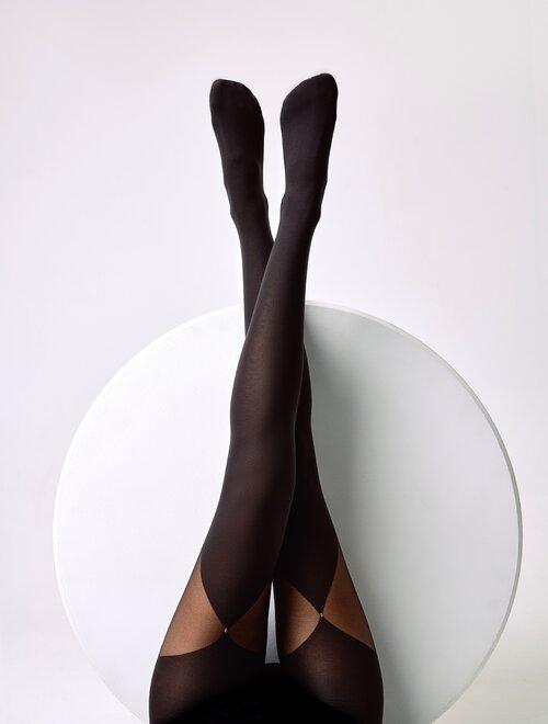 Ciorapi cu model elegant Conte Elegant Foxy 60 den