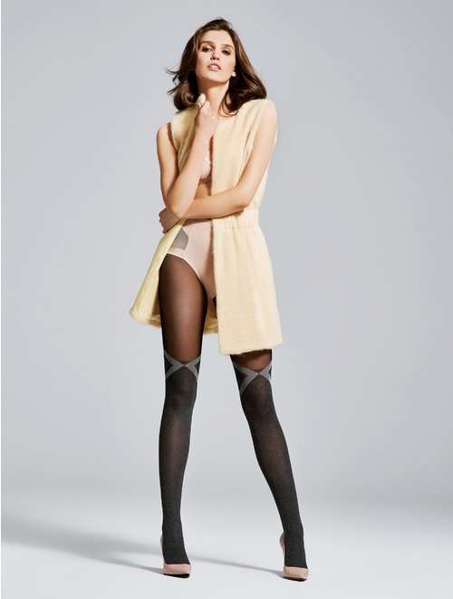Ciorapi cu model Fiore Milan 40 den